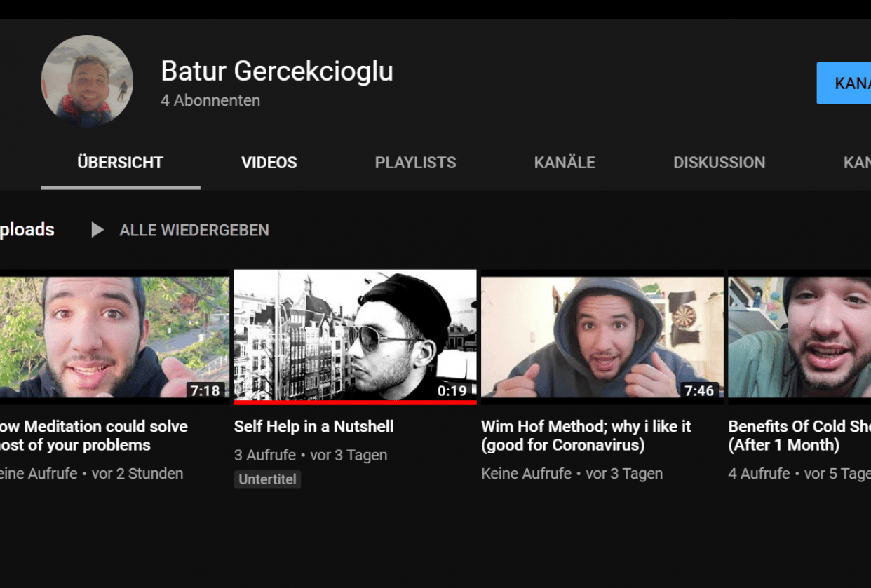 BATUR YOUTUBE yoyo check me out - student project