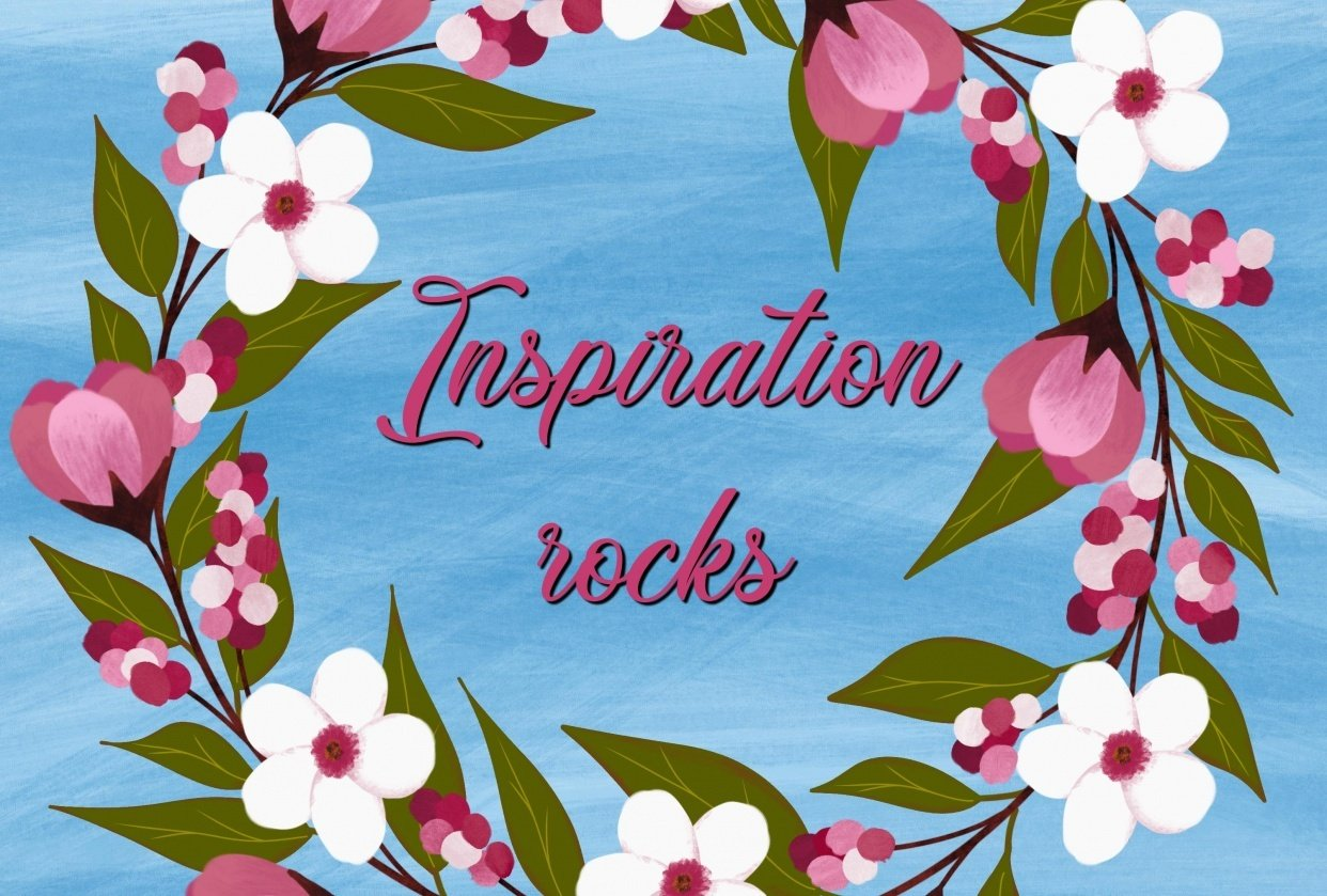 Inspiration rocks - student project
