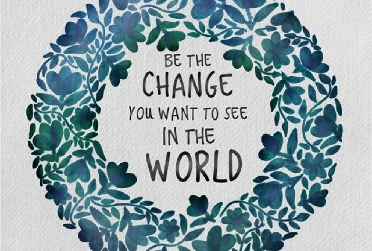 Be the Change - student project
