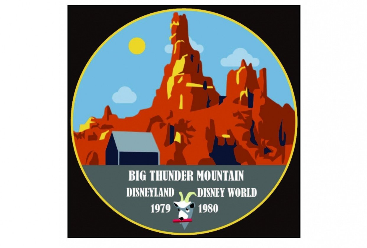 Big Thunder Mountain - student project