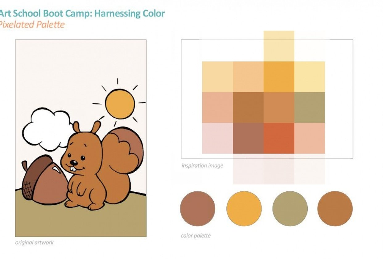 Art School Boot Camp: Harnessing Color - student project