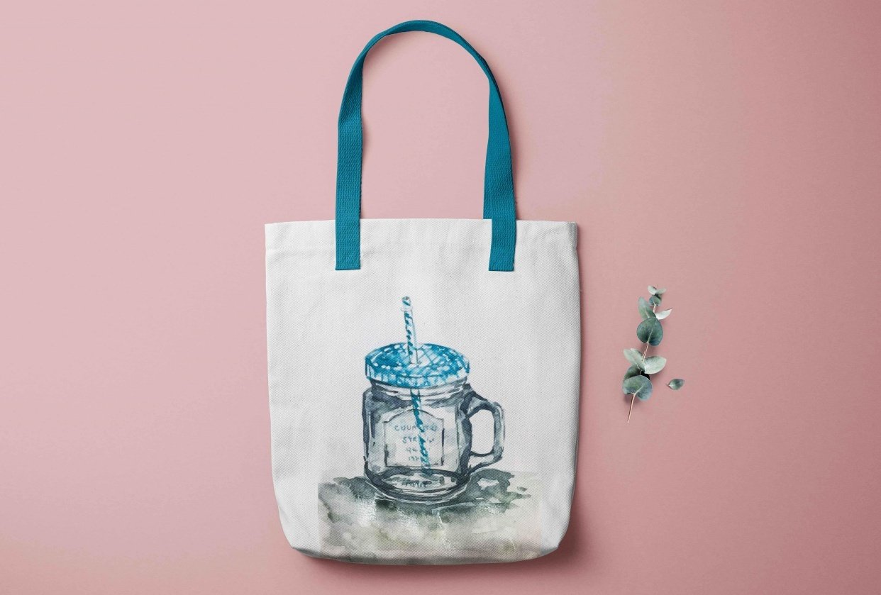 Tote Bag Waterglass - student project