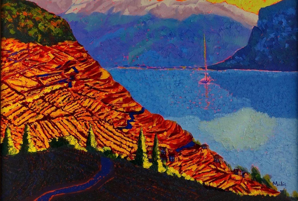 Paint Vibrant Landscapes in Oils - student project