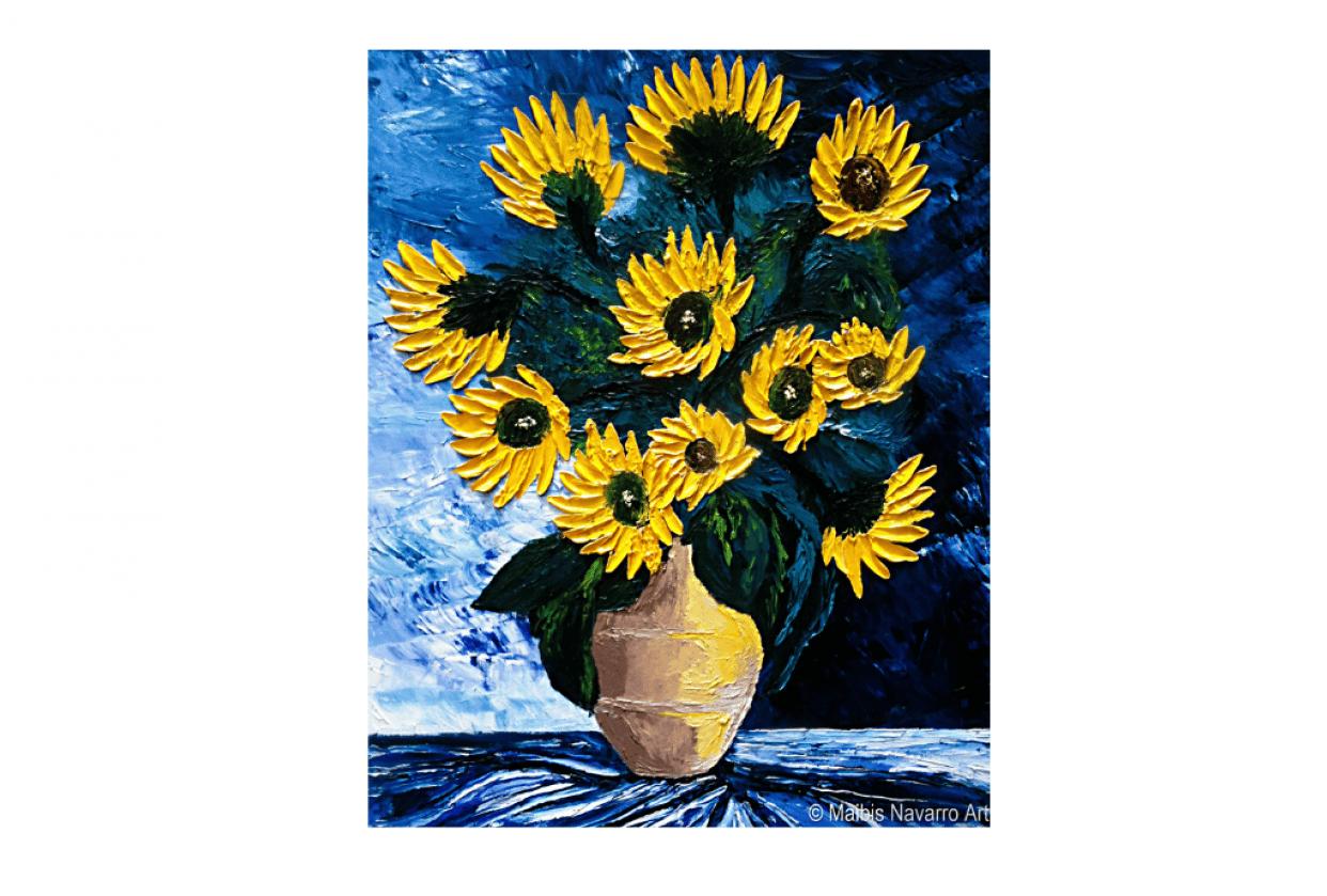 Floral Bouquet Sunflowers - student project
