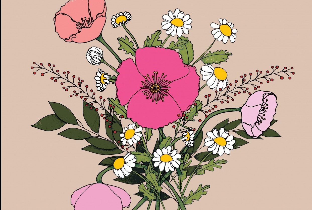 Poppy Bouquet - student project