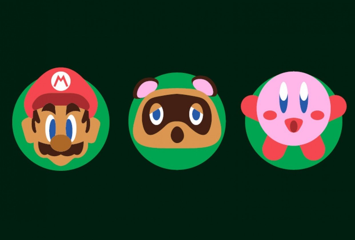 Nintendo Icons - student project