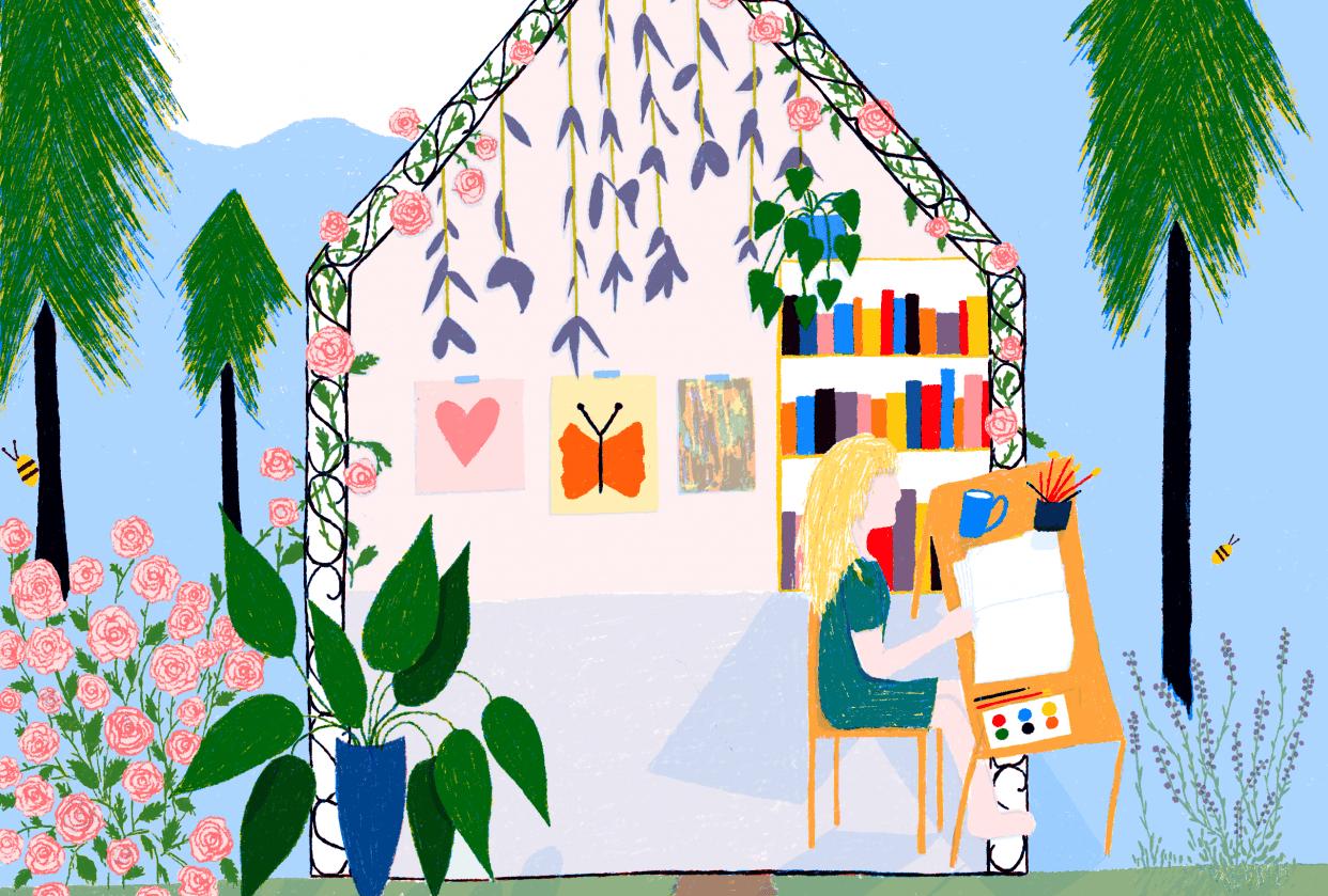 My Dream Studio :) - student project