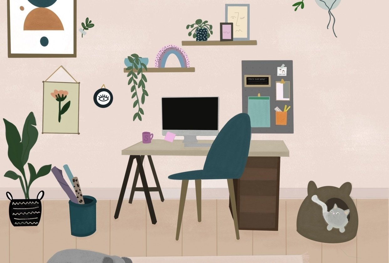 Home Scene - student project