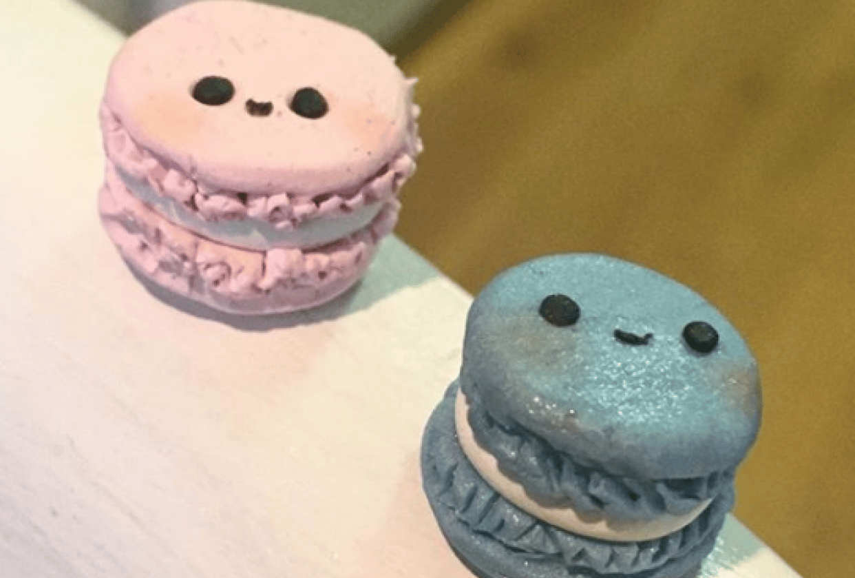 Polymer Clay Macaroons - student project