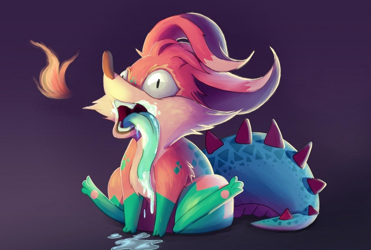 Lil' Fox Monster - student project