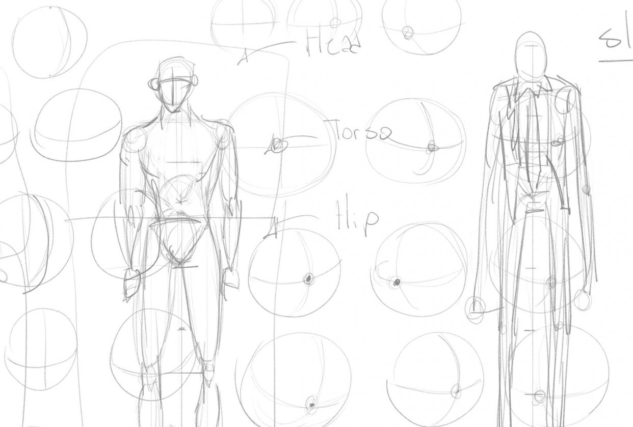 How To Draw BASICS - student project