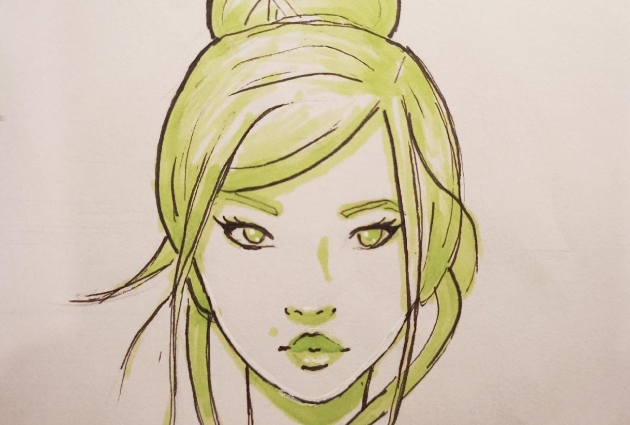 Female Character Design - student project