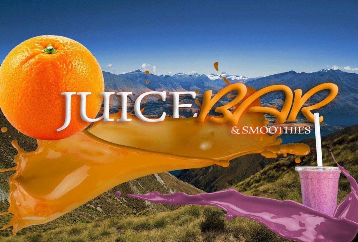 juice bar - student project