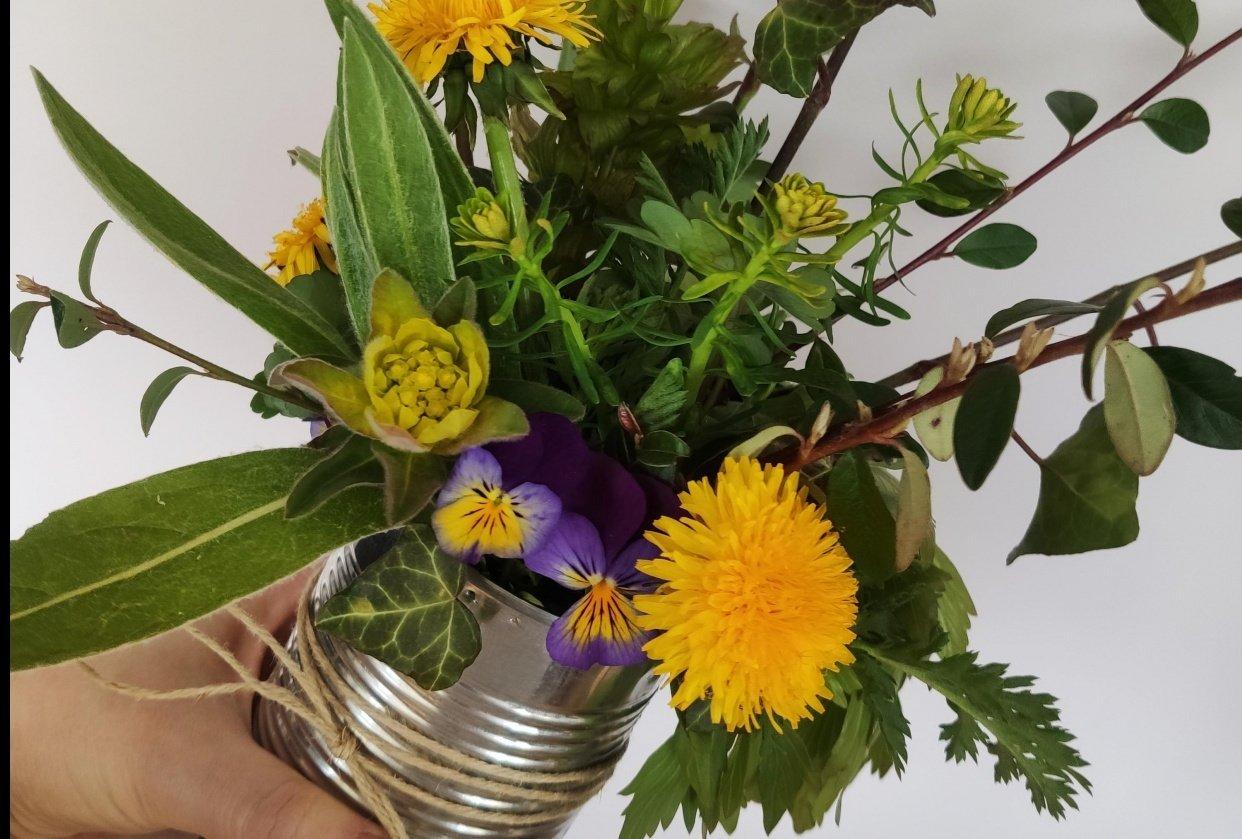 Spring arrangement - student project