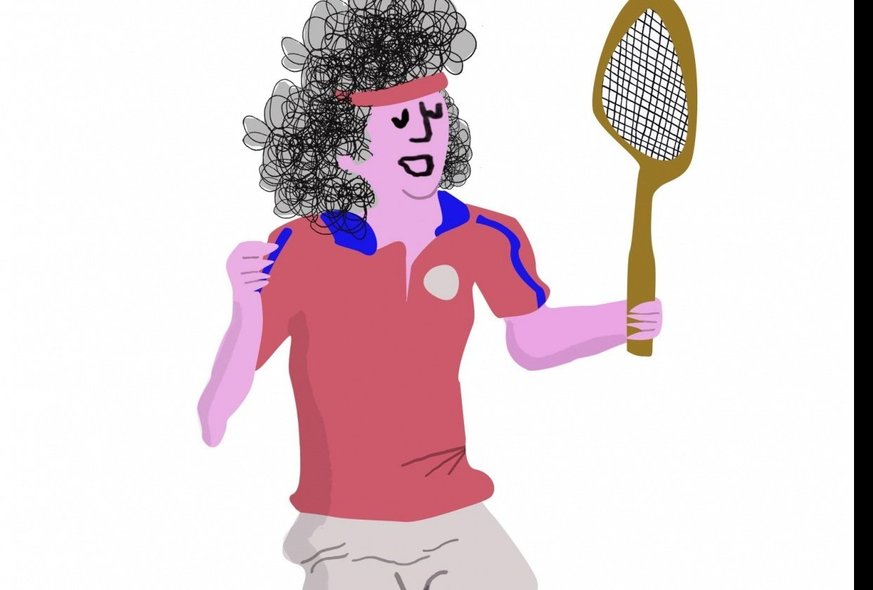 Tennis Player - student project