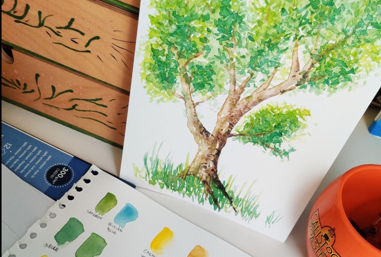 Practice tree : step by step - student project
