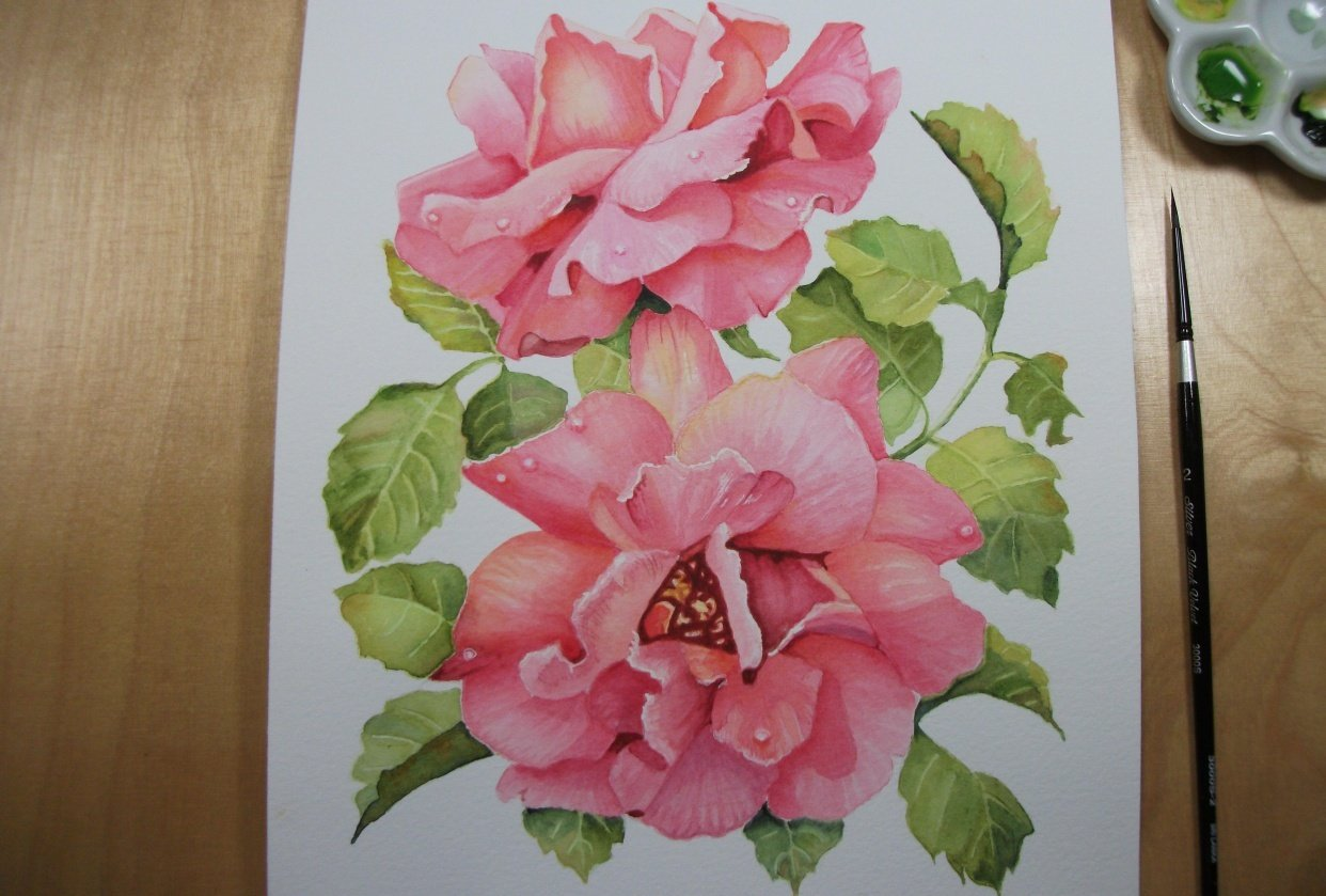 Debbie's Roses - student project