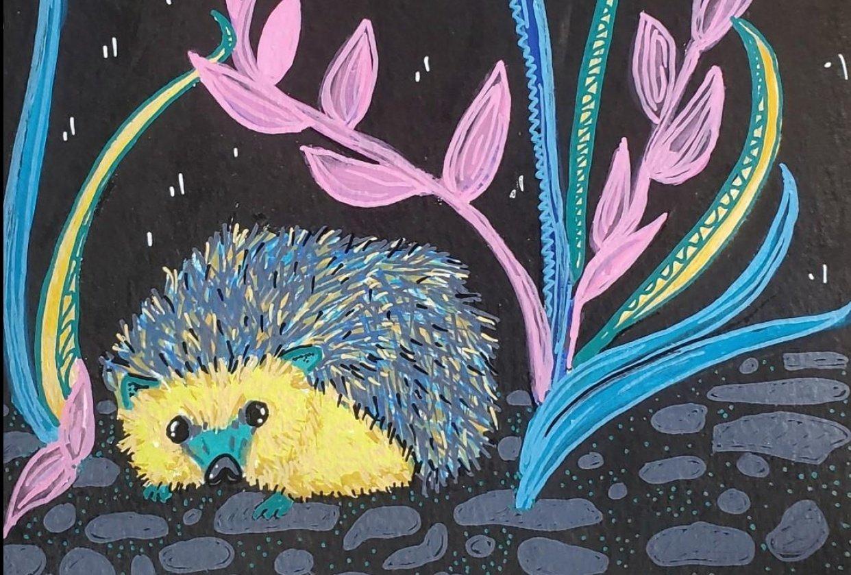 Hedgehog Design - student project