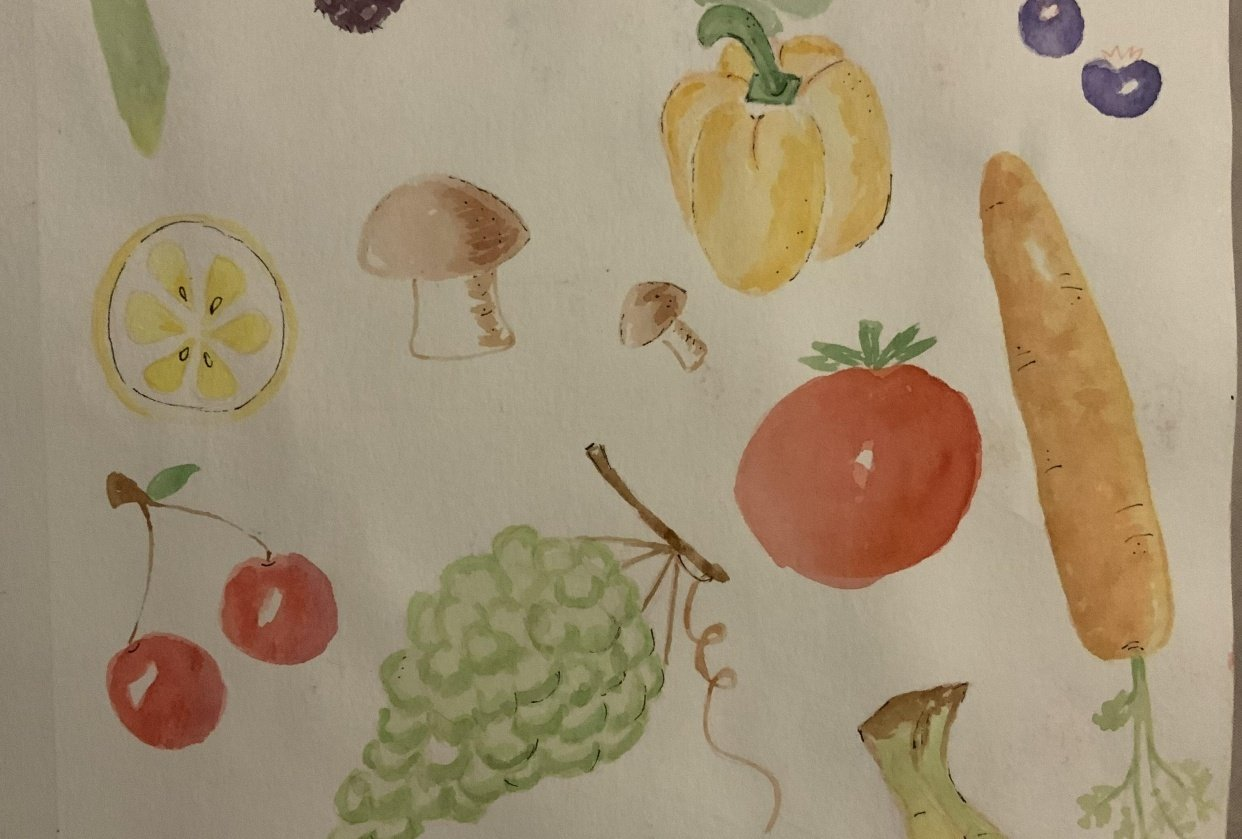 Fruits and veggies - student project