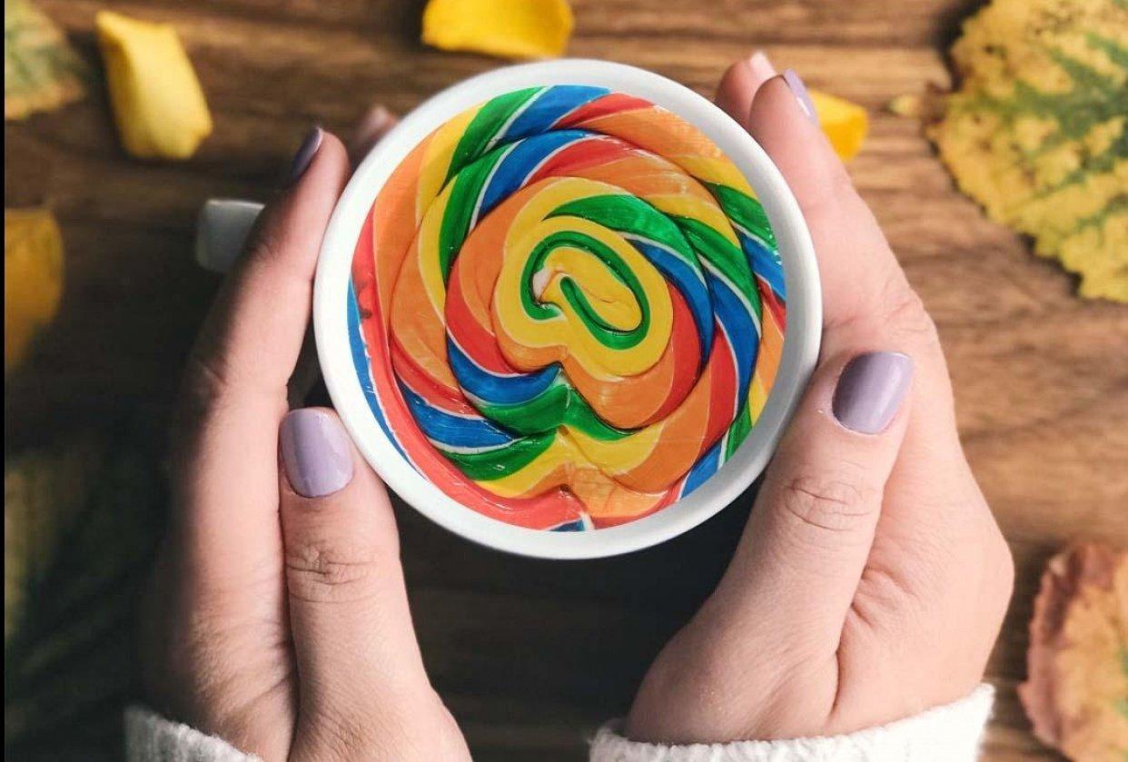 Lollipop Coffee - student project