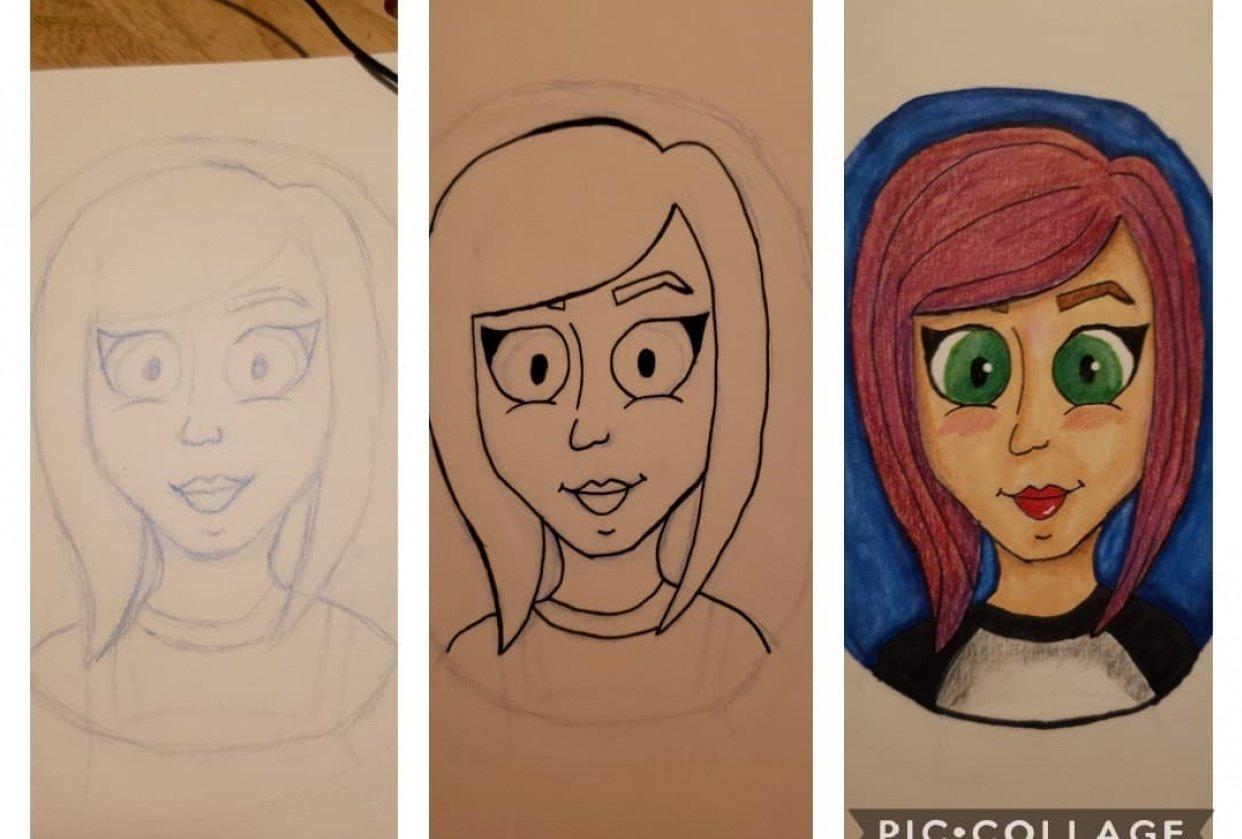 Cartoon Me - student project