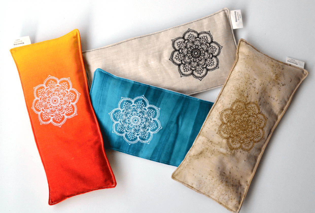 Selling my eye pillows online - student project