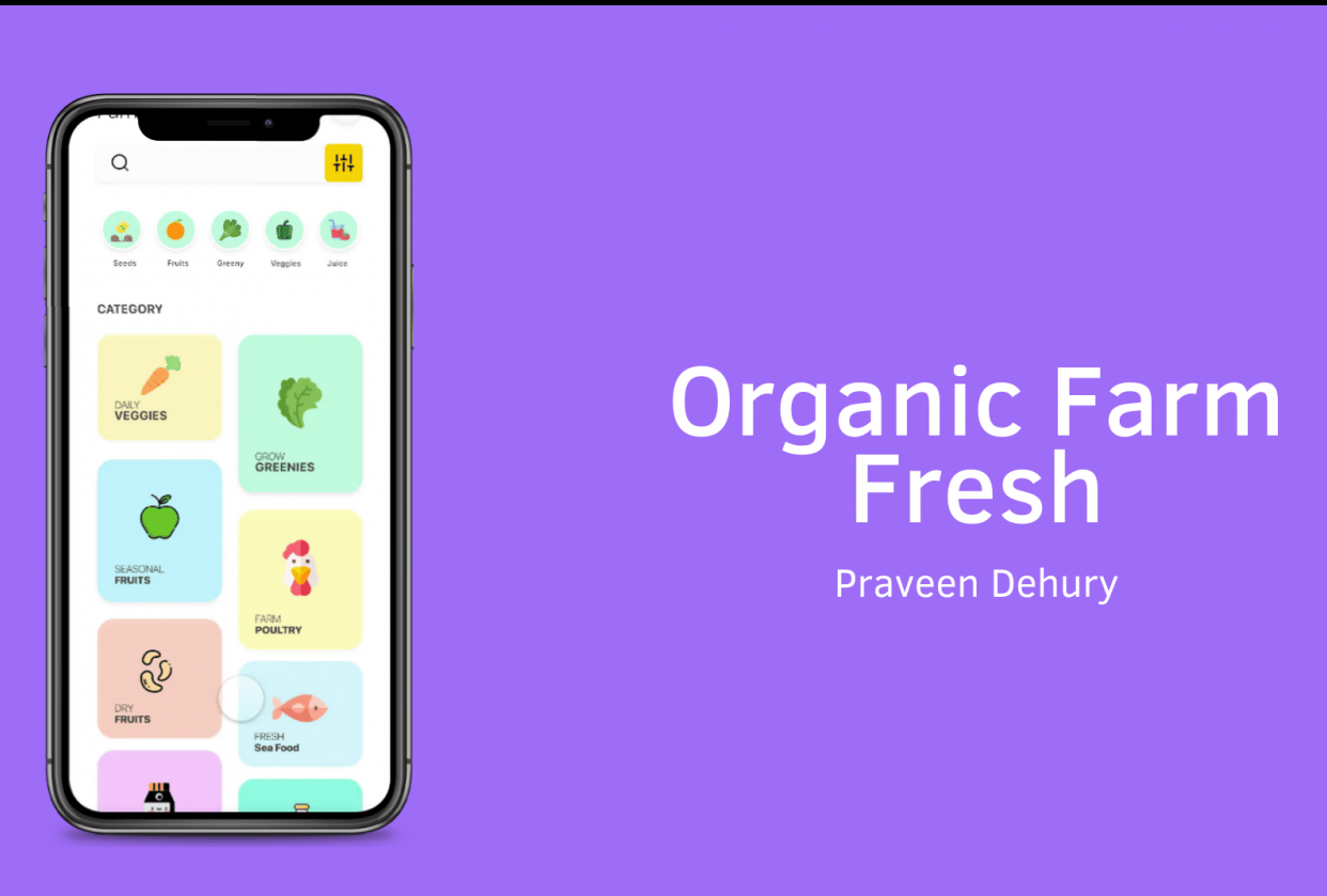 Organic Store - student project