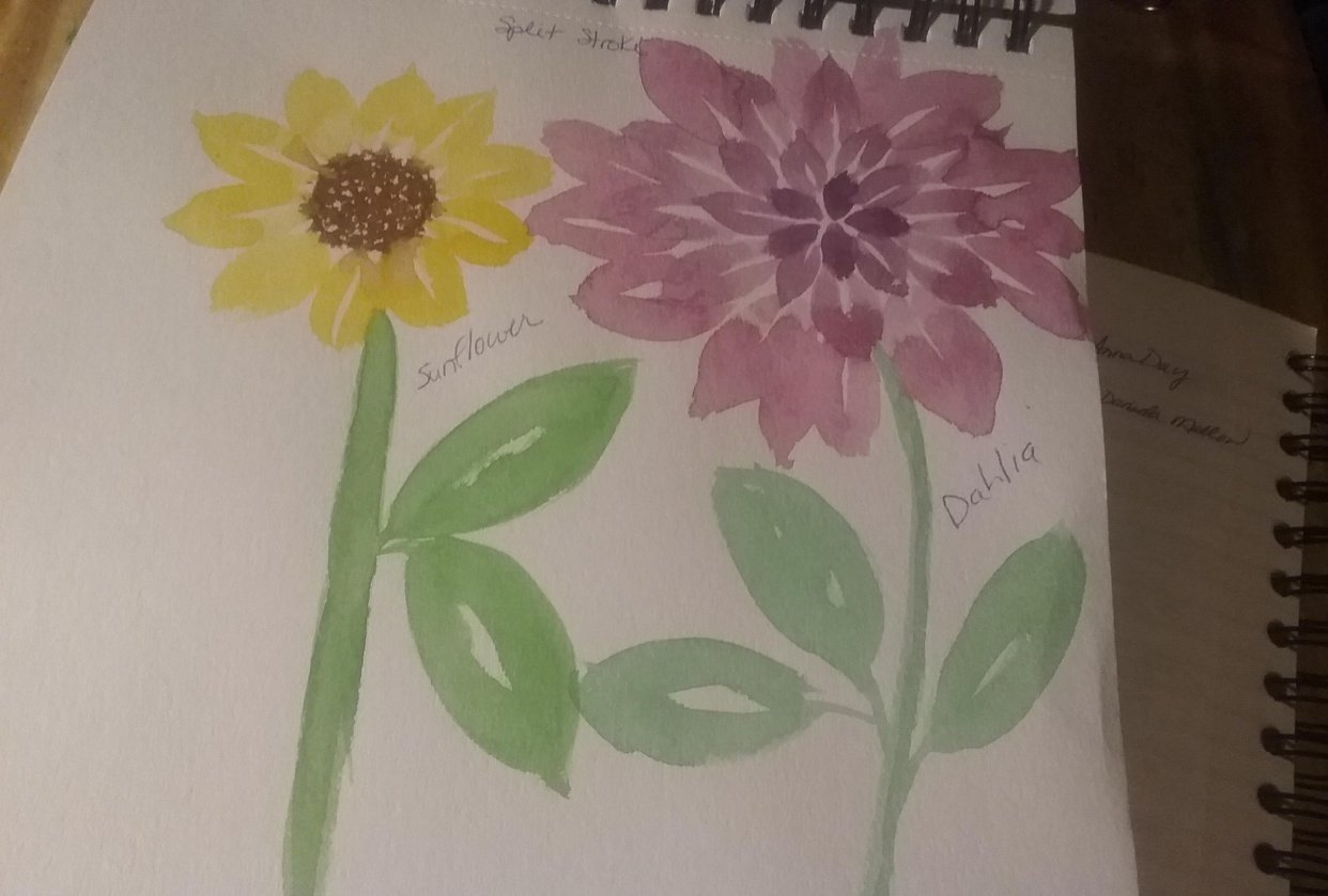 Floral fun - student project