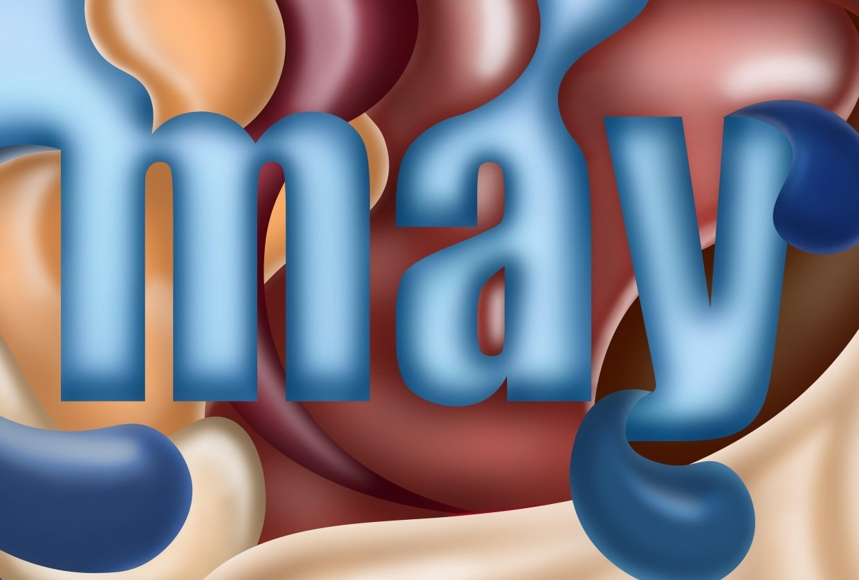 Happy May! - student project
