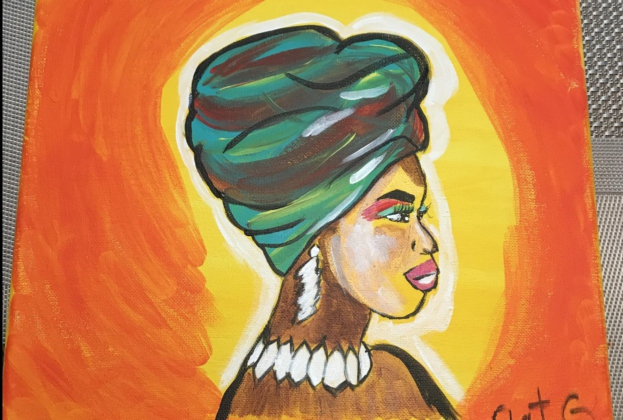 Africana Lady - student project