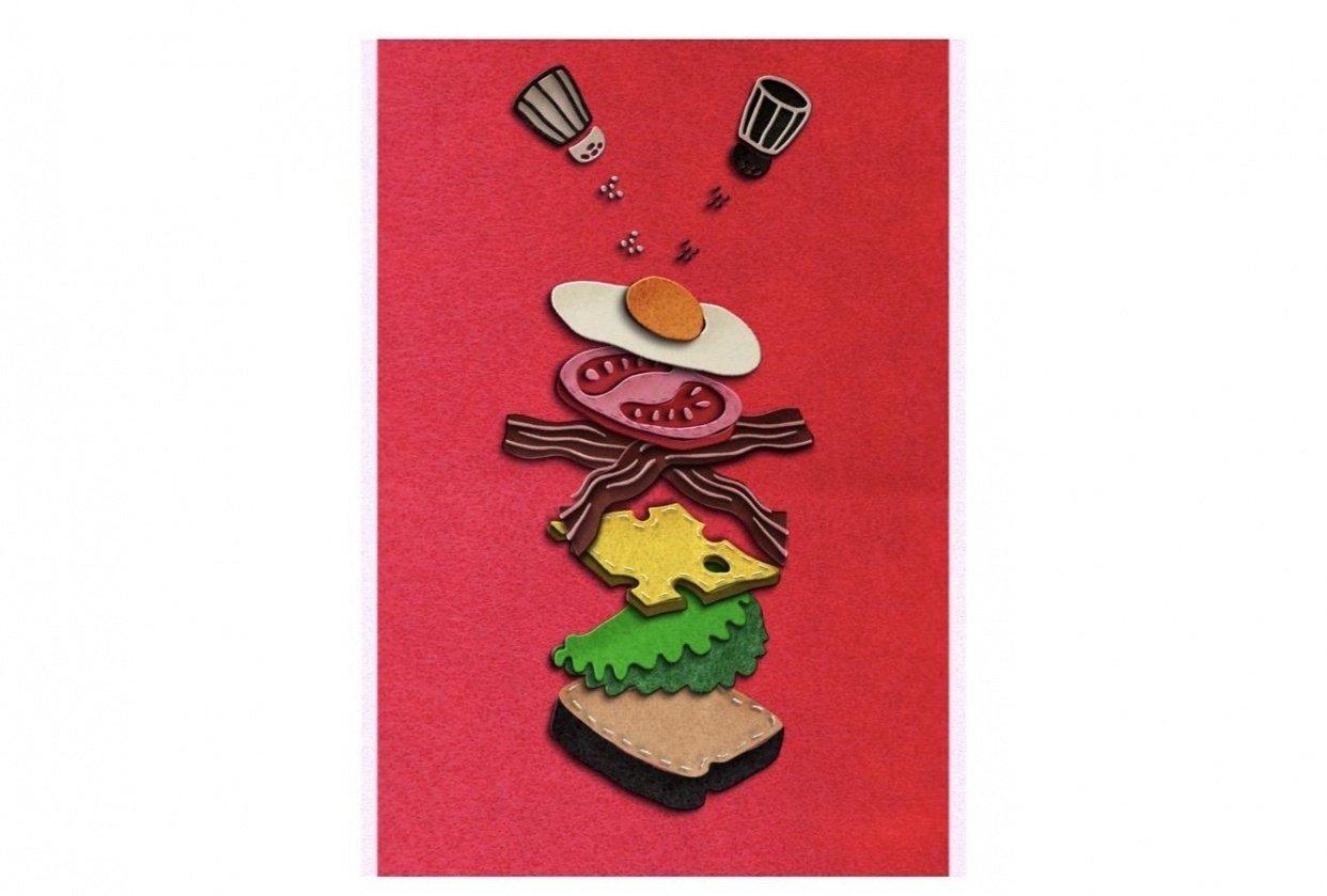 Stop Motion Breakfast Sandwich - student project