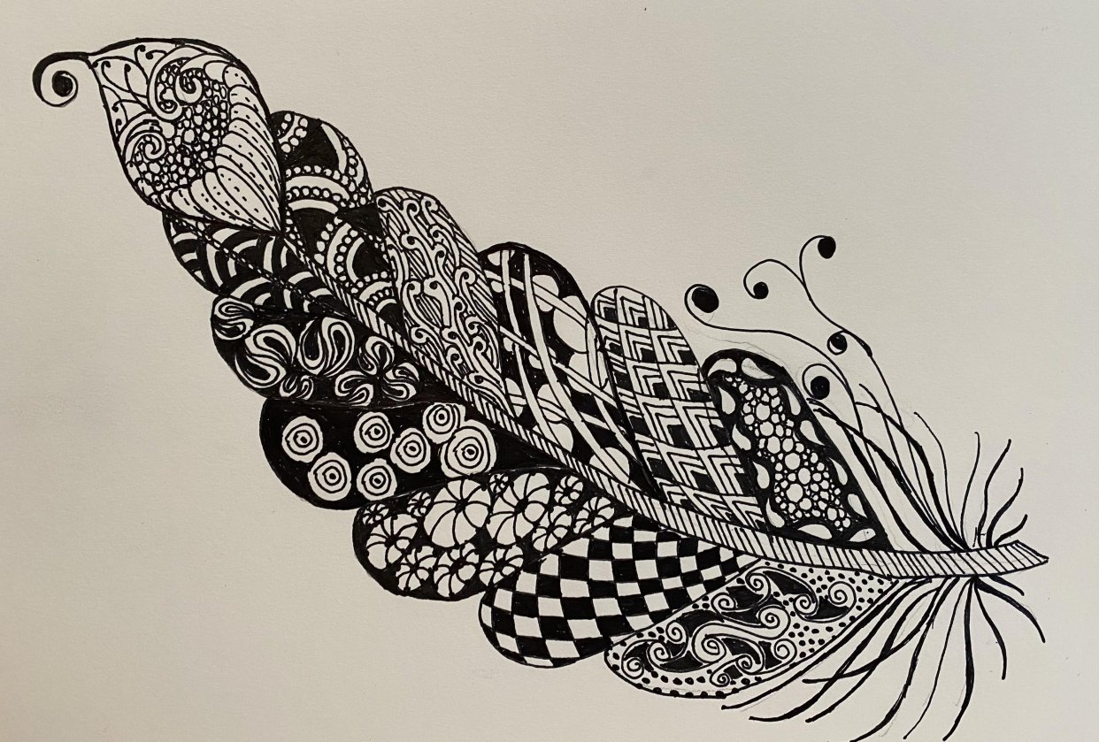 MiniProject...Zentangle - student project