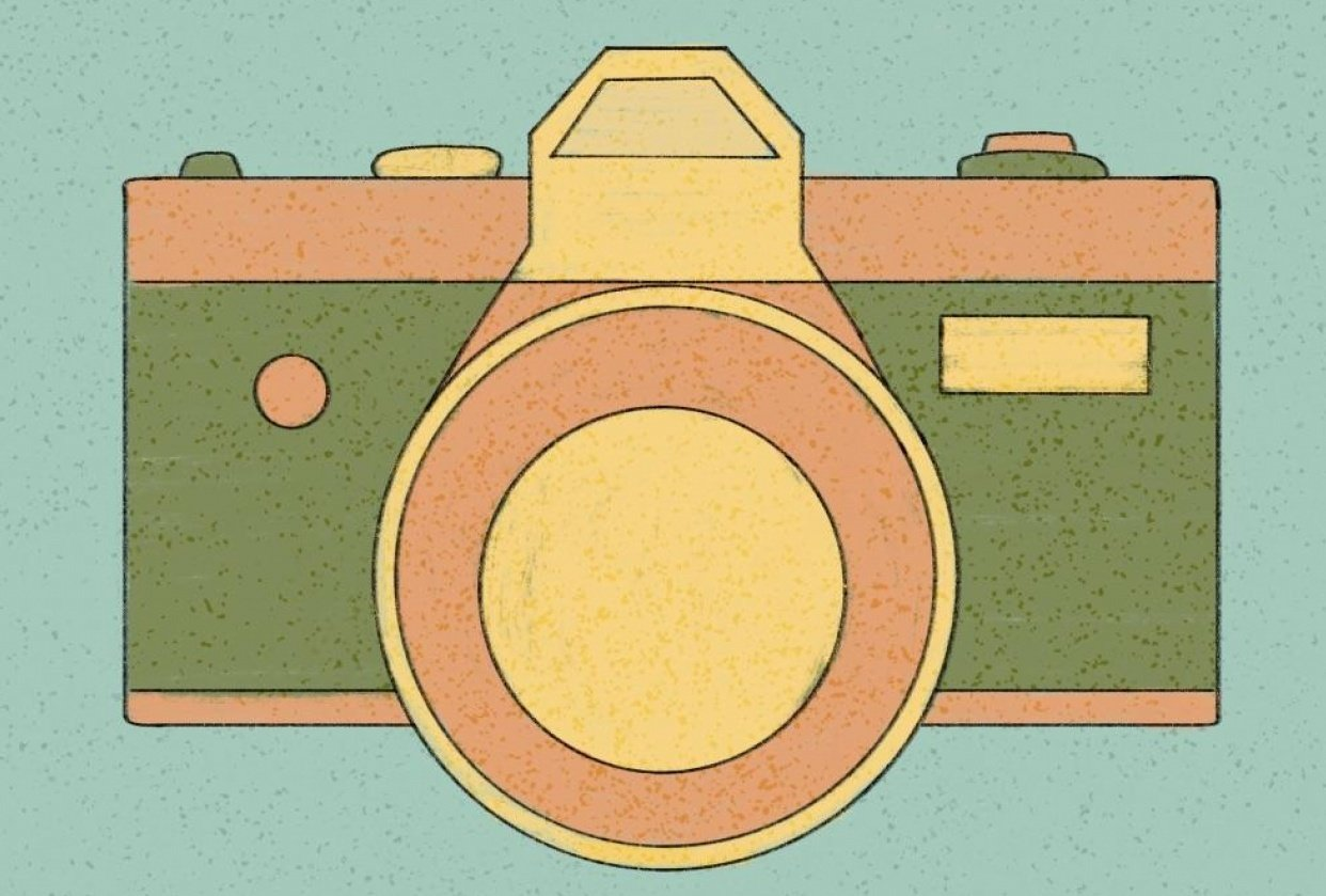 Old Cameras - student project
