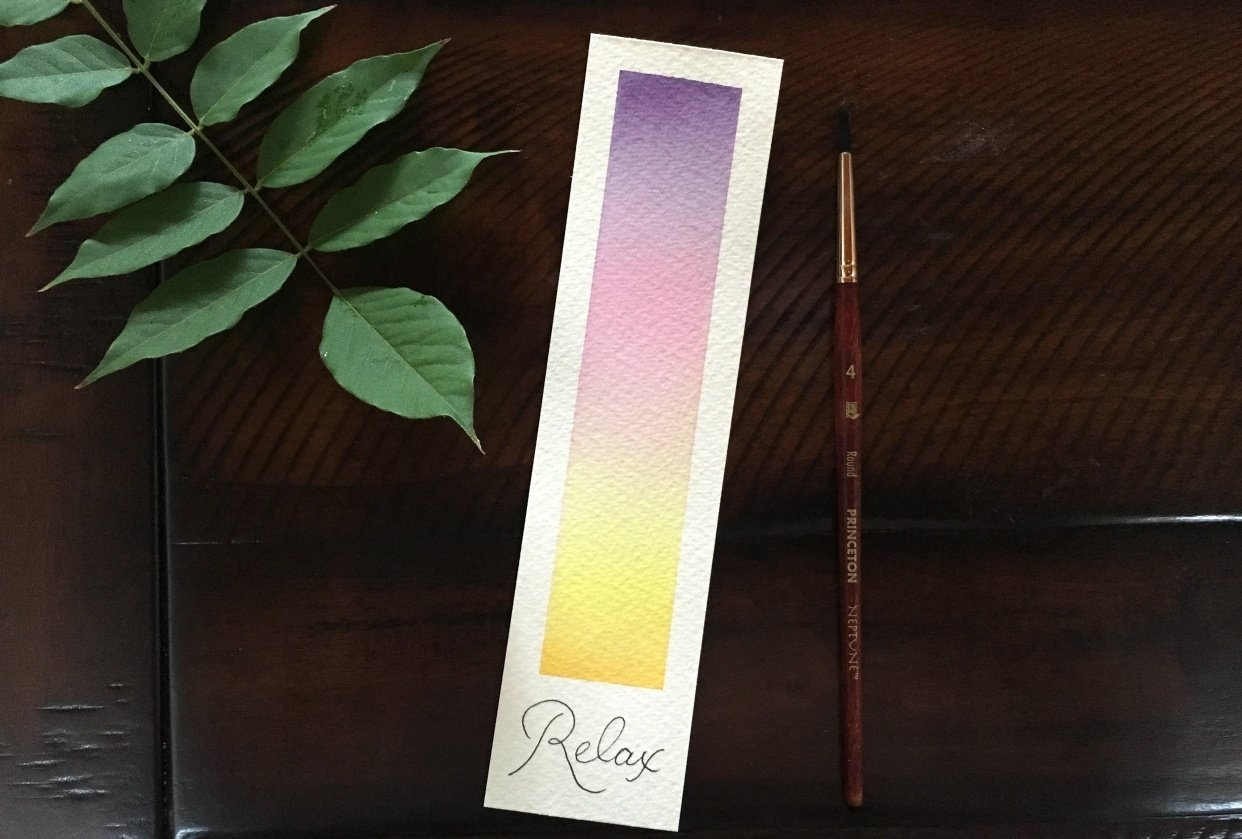 My relax bookmark - student project