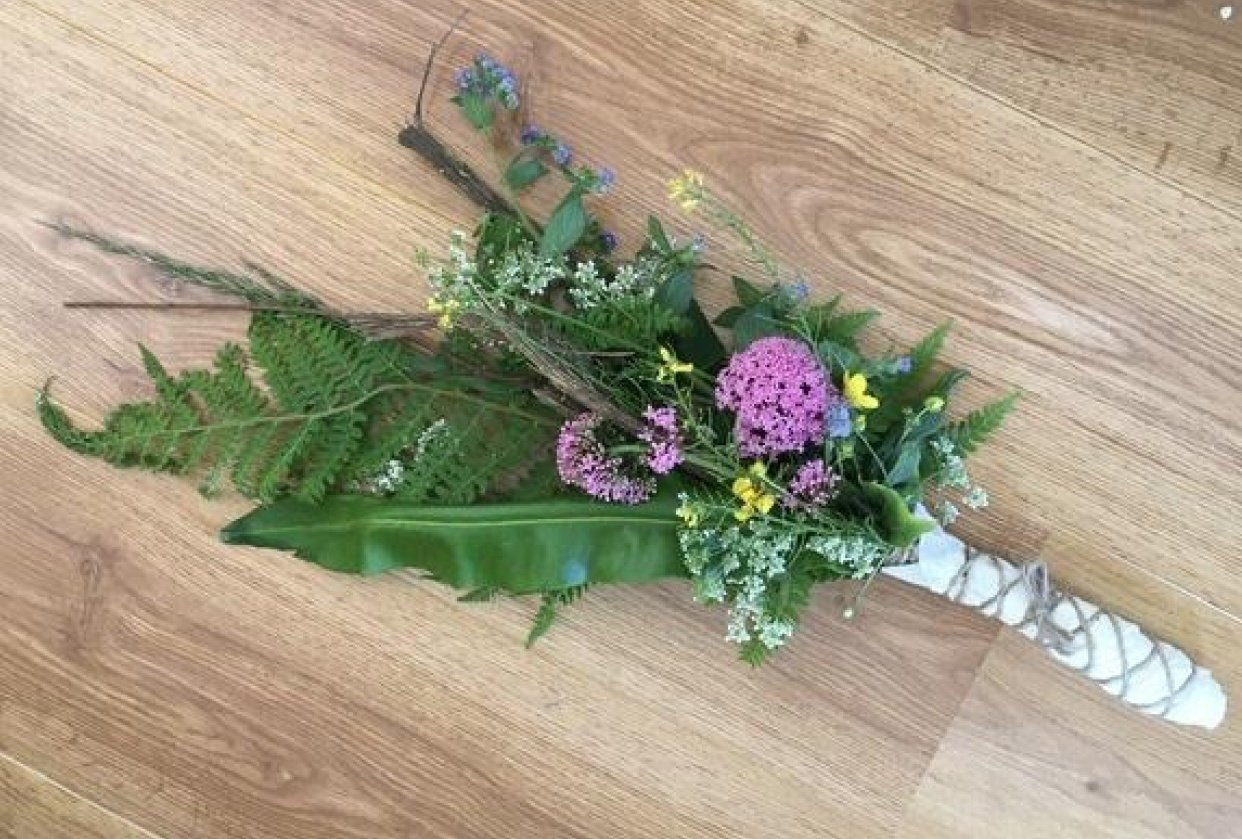 Wild Flowers Foraging - student project
