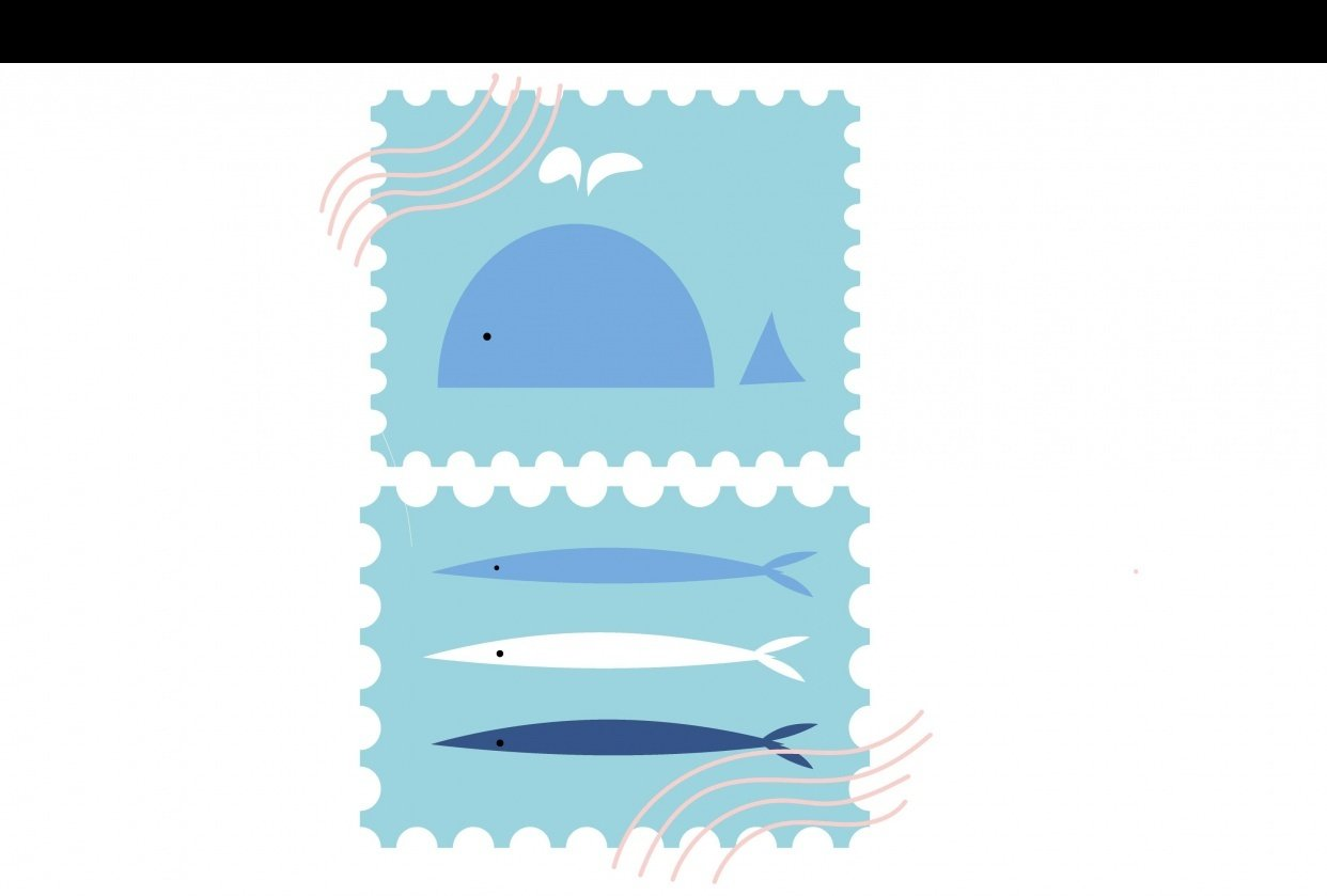 sea stamp - student project