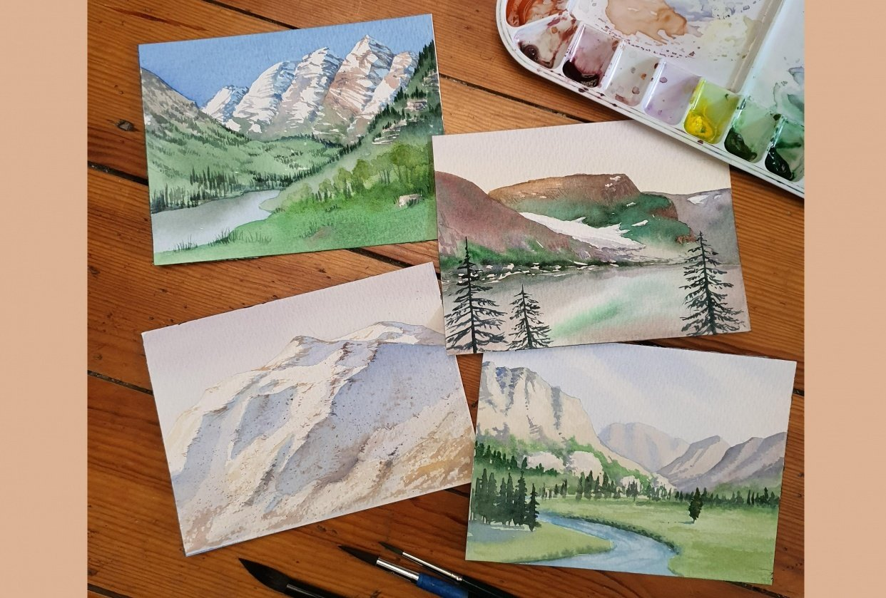 Example Mountain Studies - student project