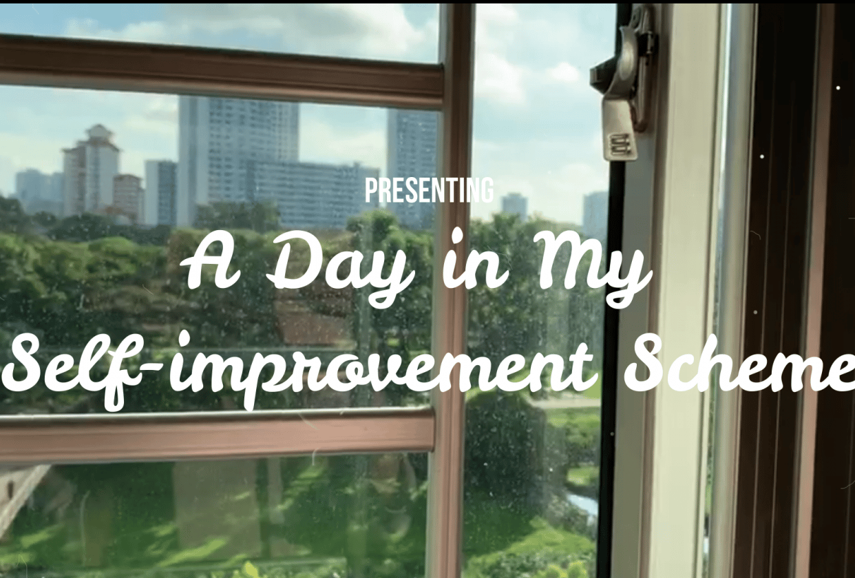 A Day in My Self-improvement Scheme - student project