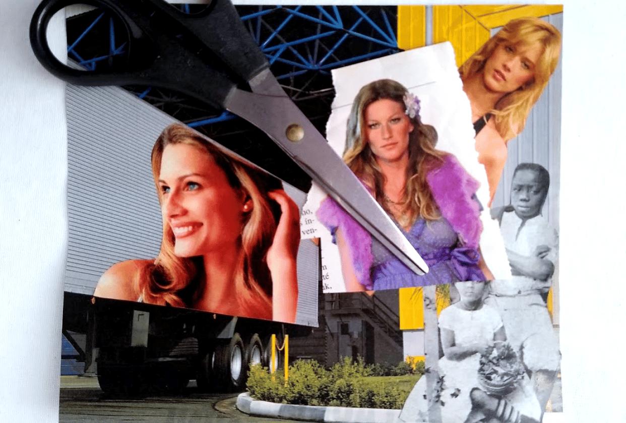 Photomontage x Creative Block - student project