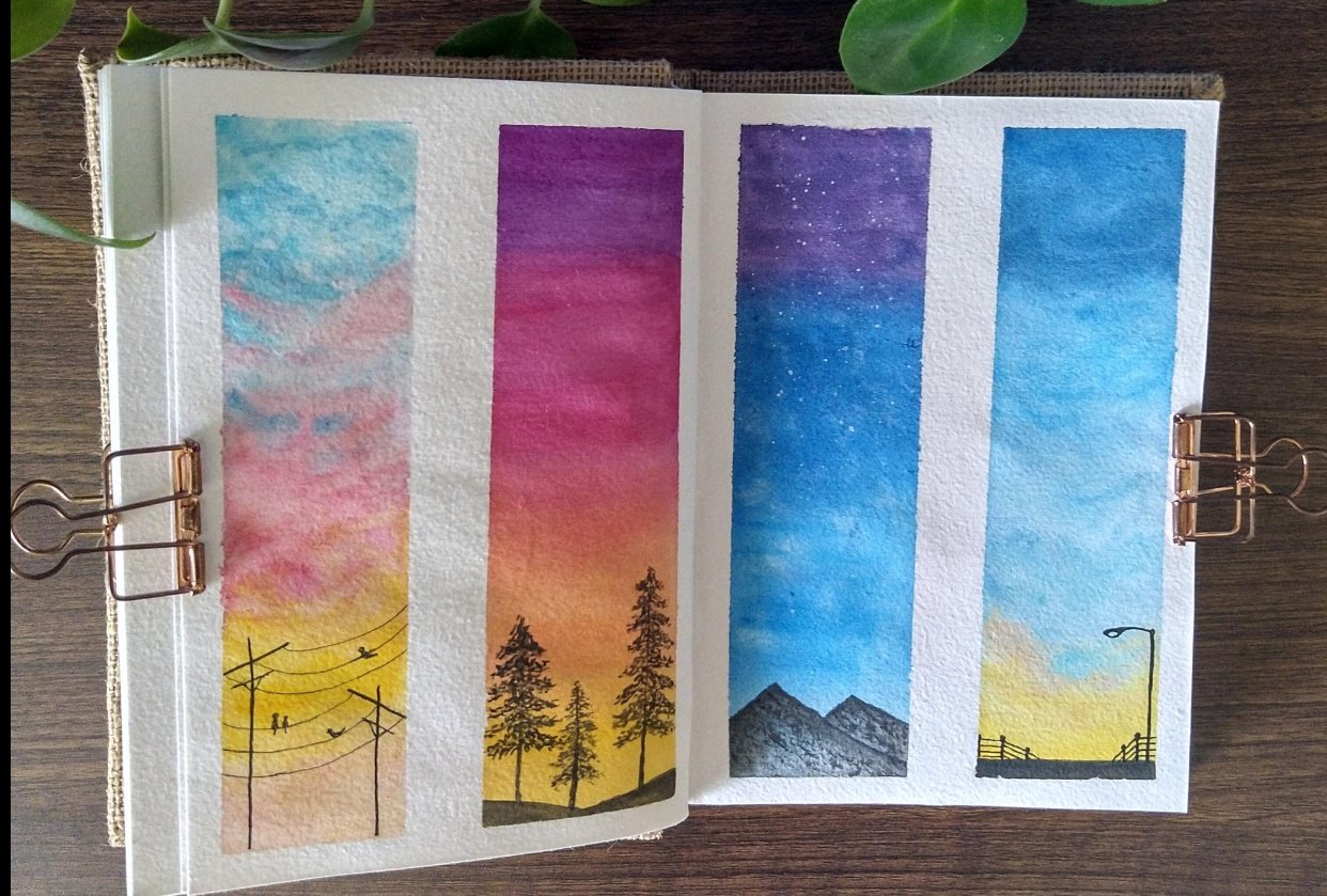Moods of Sky :) - student project