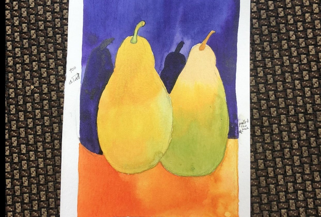 Pull the Pear: Changing Colors - student project