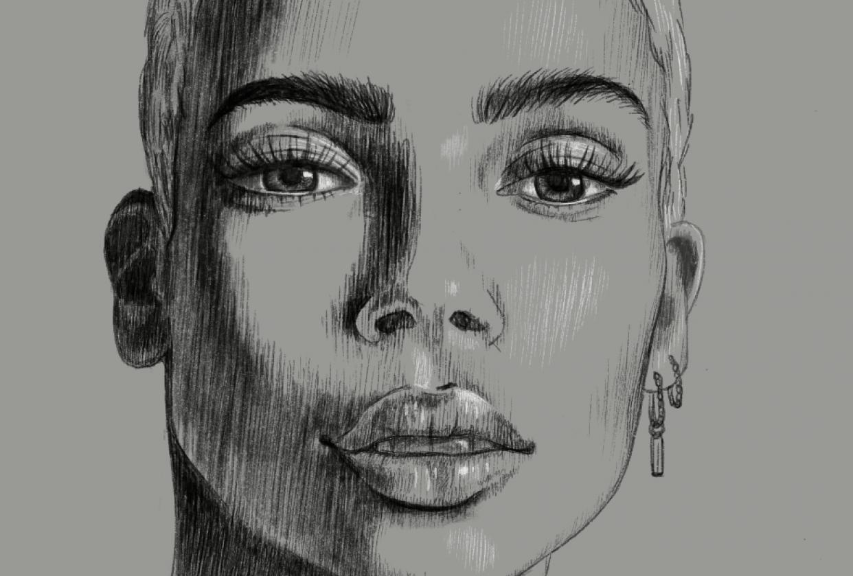 Portrait Practice - student project