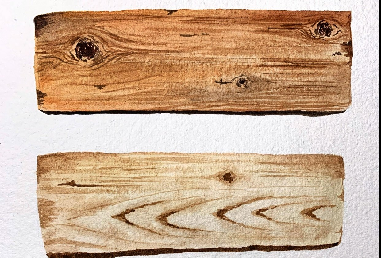 Wood textures - student project