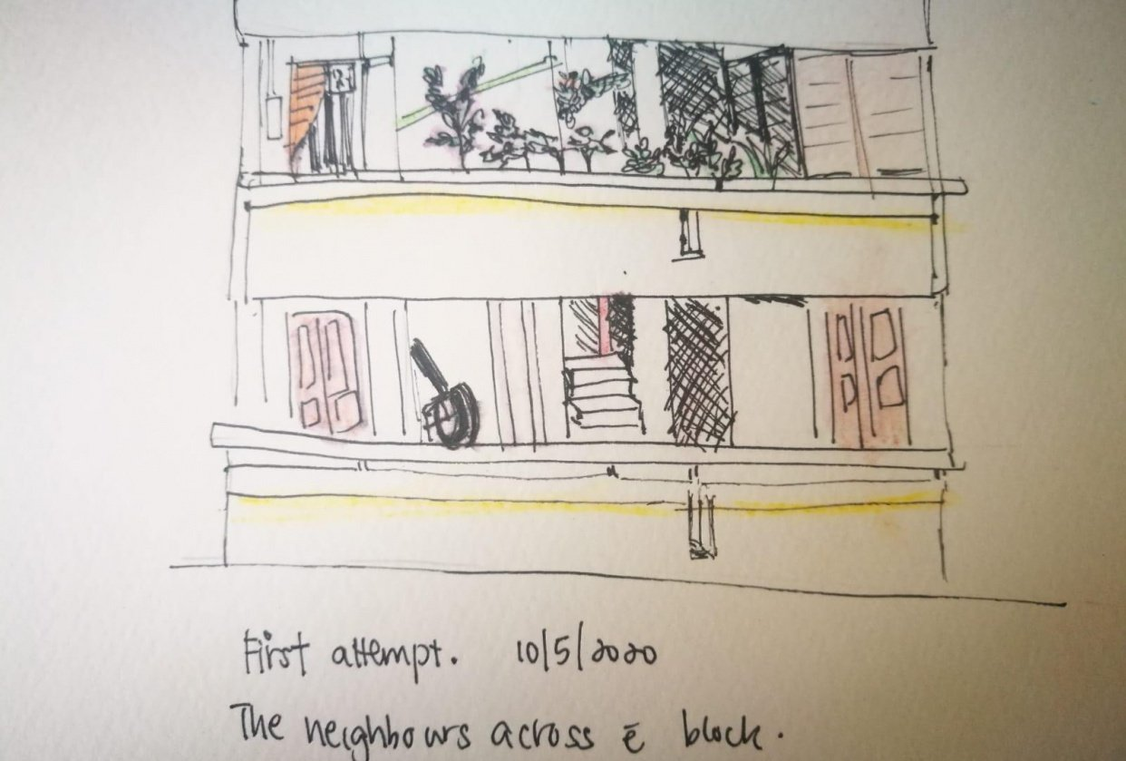 Neighbours across the block - student project