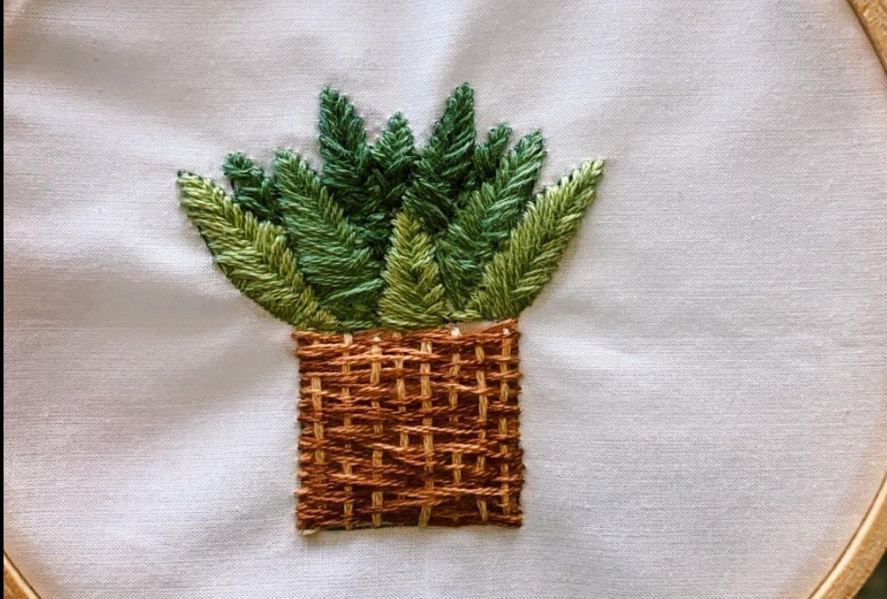 Embroidery - student project