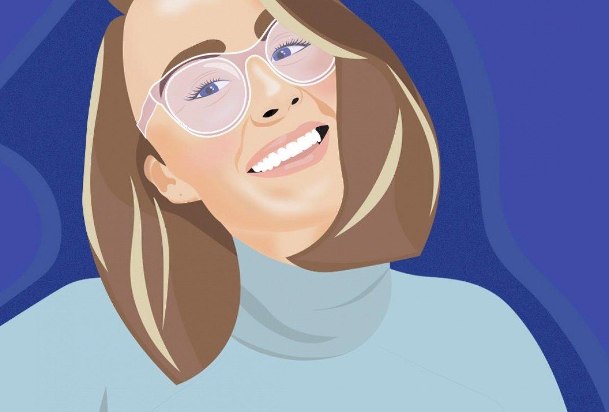 Self Portait - student project