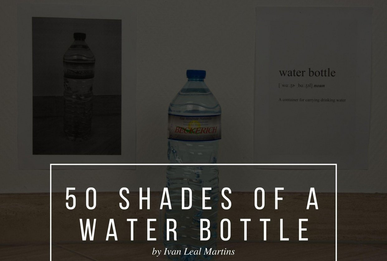 50 Shades of a Water Bottle - student project