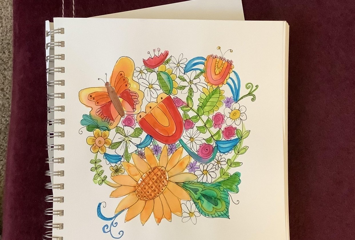 Flower Doodle - student project