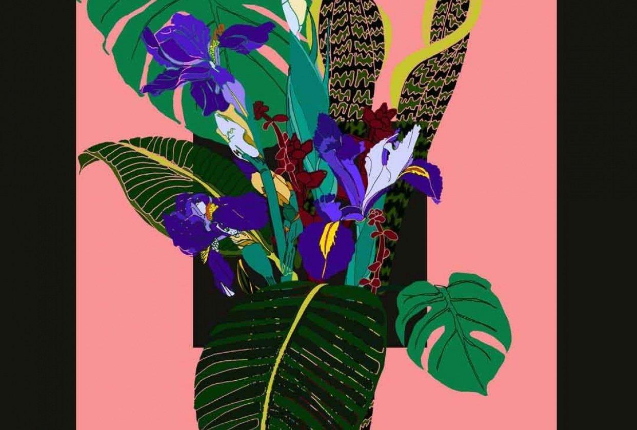 digital bouquet - student project
