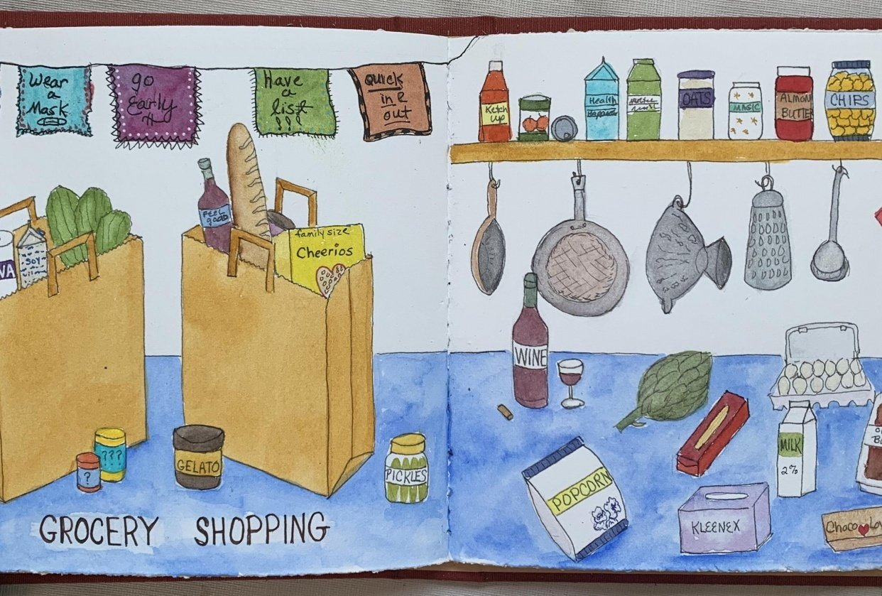 Grocery Shopping - student project